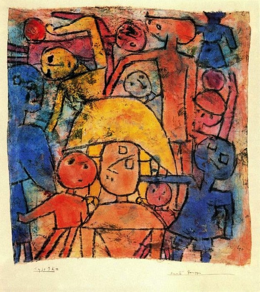 Paul Klee Colourful Group