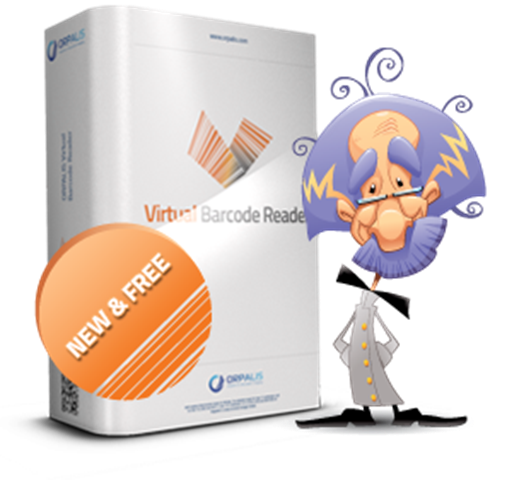 برنامج قراءة الباركود ORPALIS Virtual Barcode Reader 1.0.1