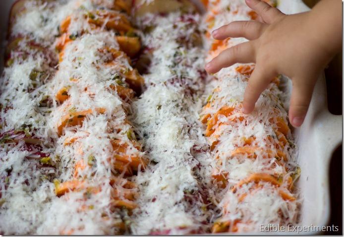 parmesan potato tian