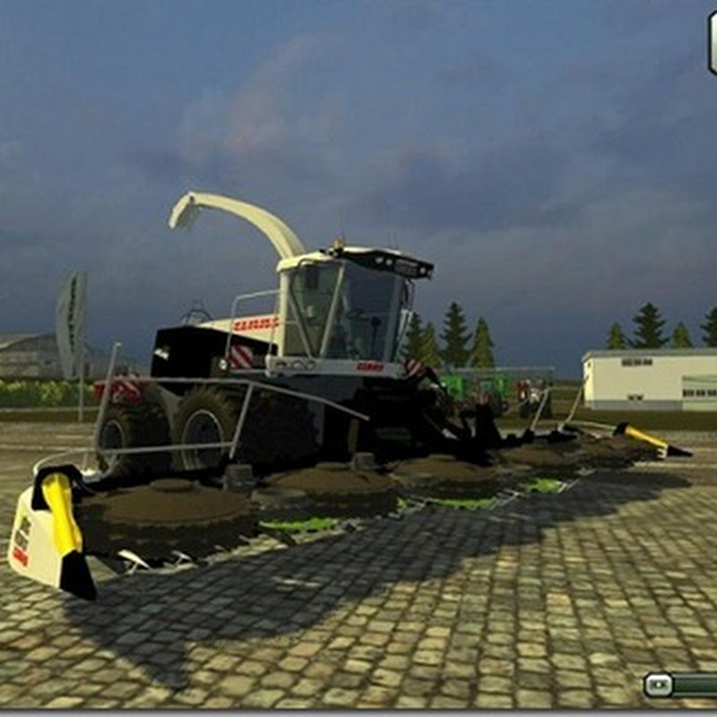 Farming simulator 2013 - Claas Jaguar Black Edition With Orbis V 1.0