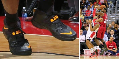 nike zoom soldier 7 pe timeline 140115 shoe soldier7 blackpe King James and His 26 Different Nike Zoom Soldier VIIs in 2013 14