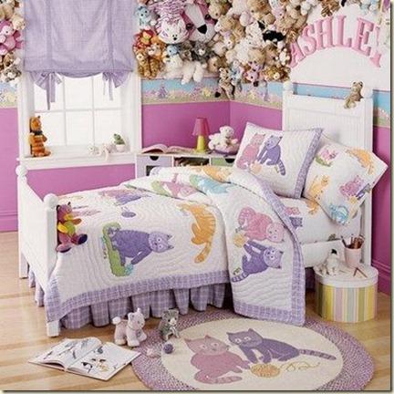 decoración de dormitorios para niñas2