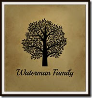 Waterman Family Tree Logo Museum Mat
