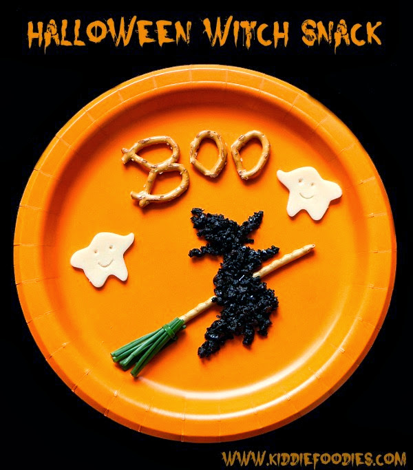 Halloween-witch-and-ghost-snack