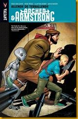 Archer & Armstrong vol. 3 portada