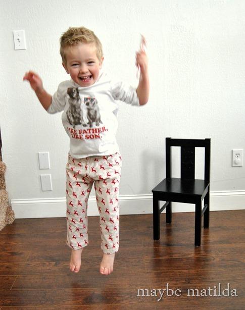 Super easy PJ pants