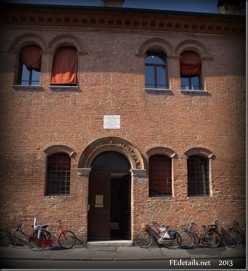 La casa di Biagio Rossetti, Foto3, Ferrara, Emilia Romagna, Italia - The house of Biagio Rossetti, Photo2, Ferrara, Emilia Romagna, Italy - Propertpy and Copyrights of FEdetails.net