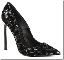 Kurt Geiger Sequin Court Shoe