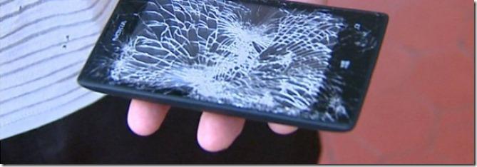 celular nokia lumia 520 leva tiro e salva vida de policial