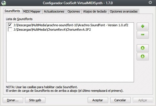 Configurar-VirtualMIDISynth