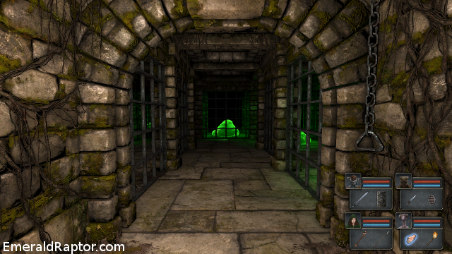 Legend of Grimrock - green slime