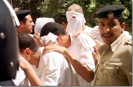 egypt gays arrest