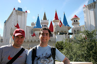 Out the front of Excalibur