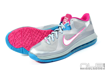 lebron9 low fireberry 13 web white The Showcase: Nike LeBron 9 Low WBF London Fireberry