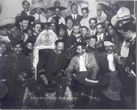 Francisco Pancho Villa and Emiliano Zapata - Dec. 6, 1914