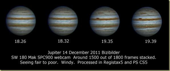 14 December 2011 Jupiter