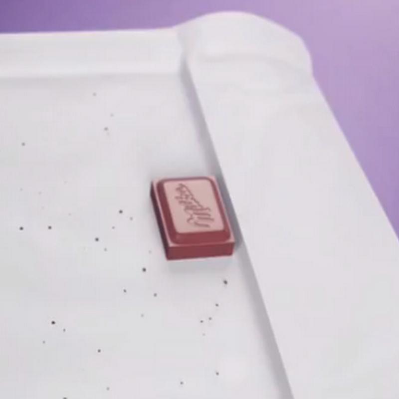 Milka y la última pieza de chocolate