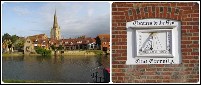 E Church and sundial