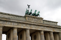 Nike on the Brandenburg Gate