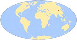 world-map lanzhou