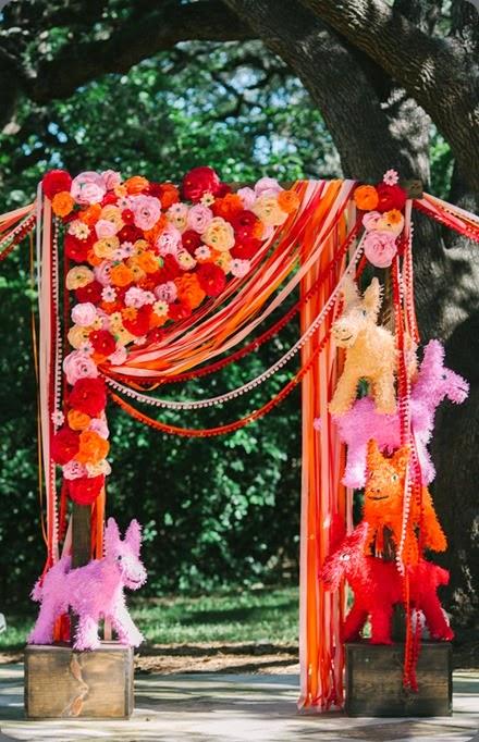 altar area austin-papelpicado-wedding-010  Anahi Navarro Photoart and sweet sunday events
