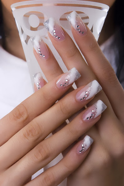 French Manicure Nail Art 1 French Nail Art Designs