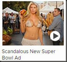 Scandalous Charlotte McKinney in Carl's Jr Super Bowl Ad Cooks Up Controversy