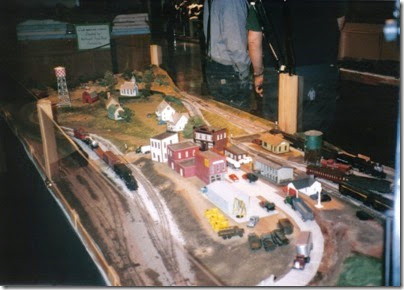 07 HO Scale Layout at the Lewis County Mall in January 1997