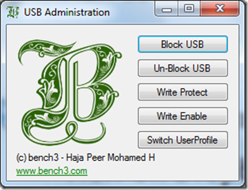 Free Software to Block or Restrict USB Access in Windows1