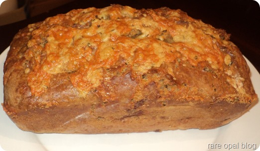 rare opal: Cheddar, Ham and Rosemary Guinness Bread