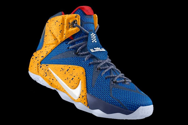 LeBron 12 iD Inspired by LBJ8217s Season Opener PE in Real Life