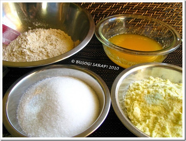 Polvoron Ingredients© BUSOG! SARAP! 2010