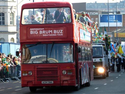 Парад на день святого Патрика в Бирмингеме, BIG BRUM BUZ