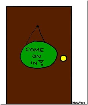 door - enter