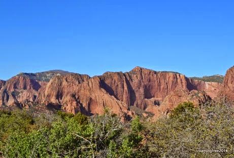 Kolob Canyon peaks