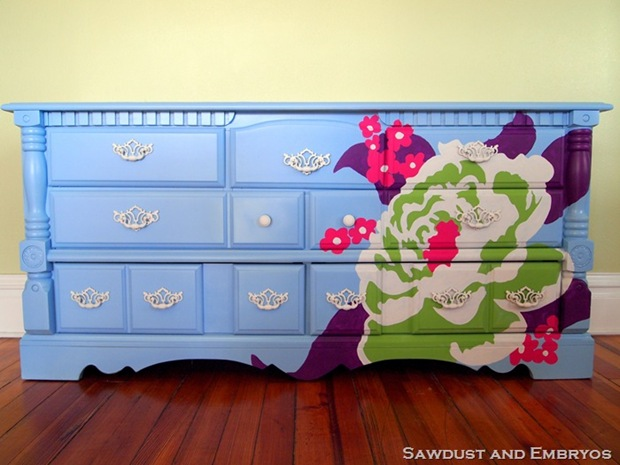 Photo Lighting Joel Dewberry Painted Dresser