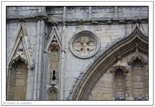Abbey Gate close up