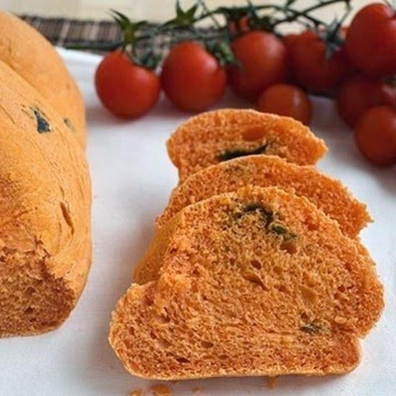 Ψωμί με  ντομάτα