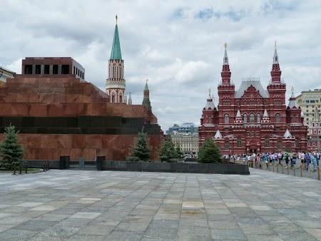Obiective turistice Moscova: Mausoleul lui Lenin