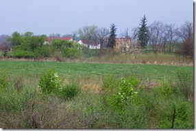 Pritchard Hill and Farm from behind the state marker A-9