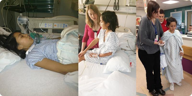 ilene in hospital