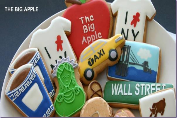 Biscoitos-New-York-Táxi-Café-Estátua-Liberdade-Camiseta