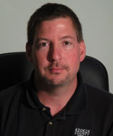 Keokuk County Sheriff Jeff Shipley. Photo taken June 6, 2011.  (Matt Nelson/SourceMedia Group News)