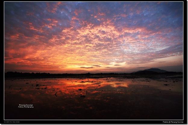 Penang sunrise1