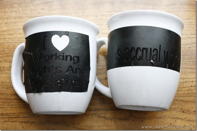 Custom Mugs with Paint Markers2