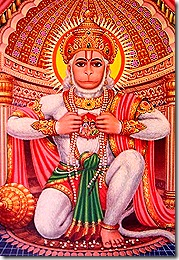 Hanuman looking beautiful