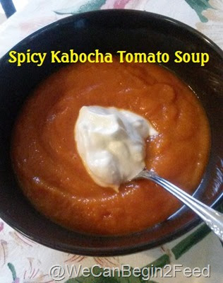 Spicy Kabocha Tomato Soup