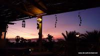 Blick aus unserem Hostal in Paracas