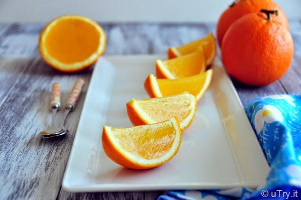 How to Make Fresh Orange Jello Slices  With Video Tutorial   http://uTry.it