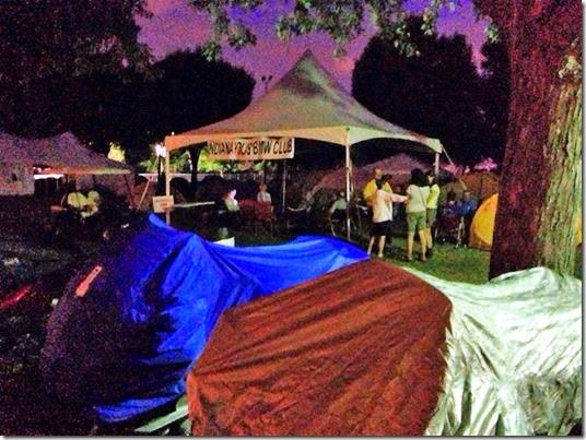rally canopy